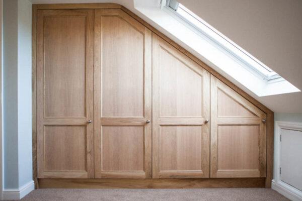 Loft Oak Wardrobes