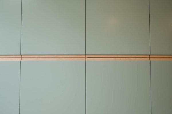 Contemporary Duck egg Kitchen 3