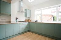 Contemporary Duck egg Kitchen 0