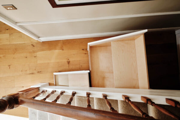 Under-stair drawers
