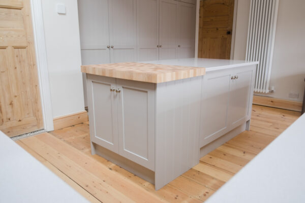 Maple and Grey Shaker Kitchen 3