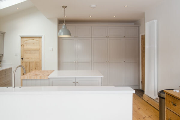 Maple and Grey Shaker Kitchen 0