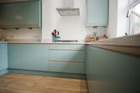 Contemporary Duck egg Kitchen 5