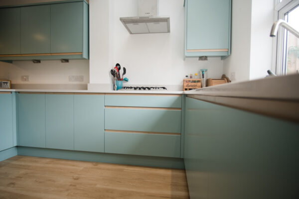 Contemporary Duck egg Kitchen 5