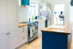 Shaker Kitchen with Oak worktops